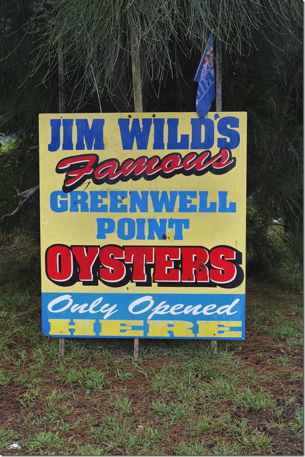 Jim Wild's oysters at Greenwell Point