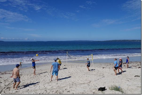 Game On! Beach volleyball on Callala Beach, Jervis Bay