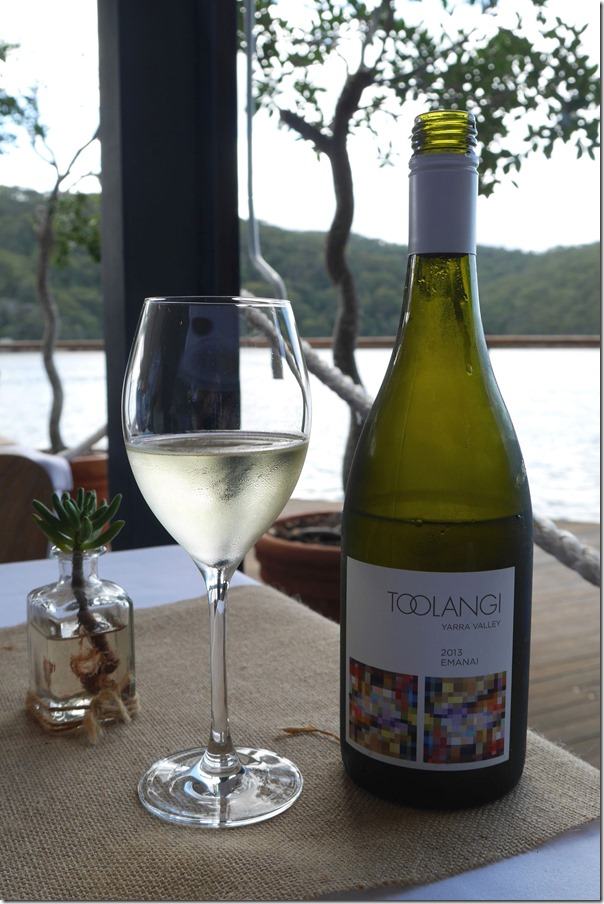 Quintessential Sydney experience ~ chilled chardy by the water