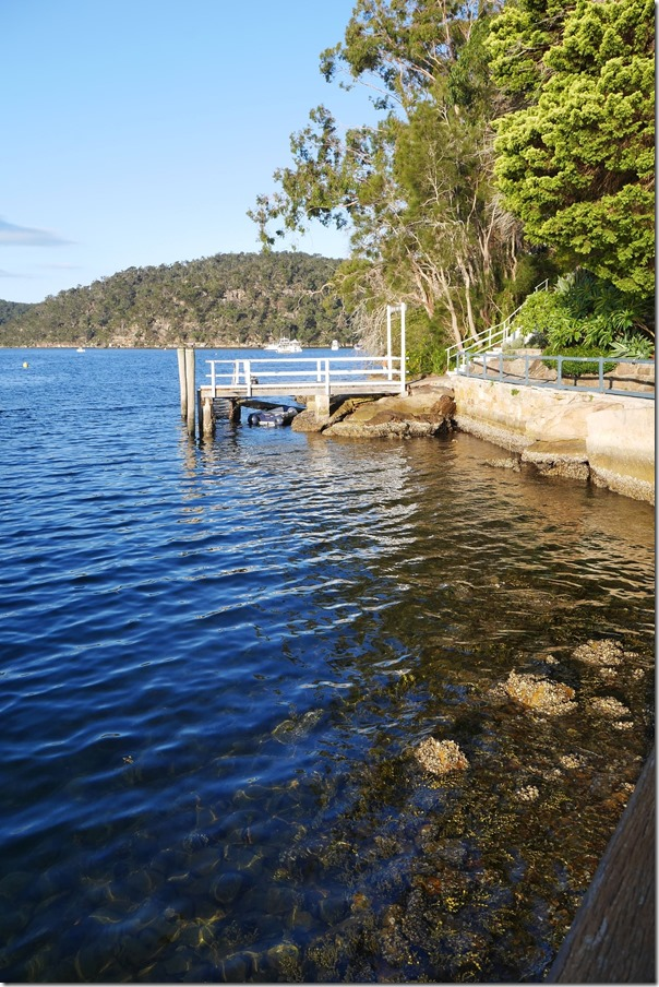 Jetty at Cottage Point on the Hawkesbury River