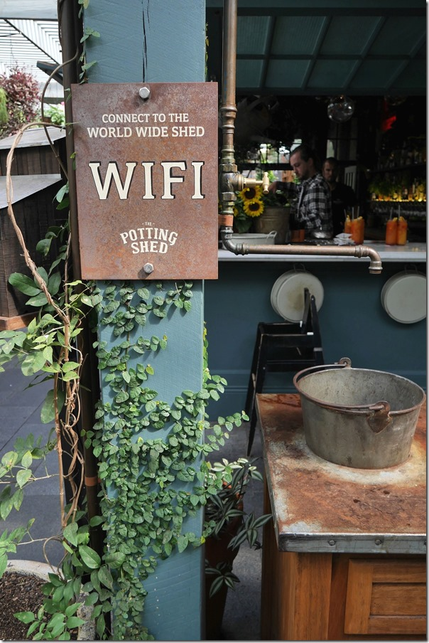 """Connect to the World Wide Shed"" at The Potting Shed"