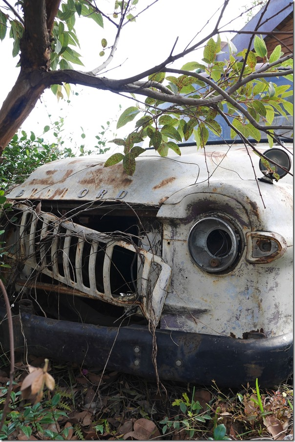 An old beaten up truck, The Grounds of Alexandria