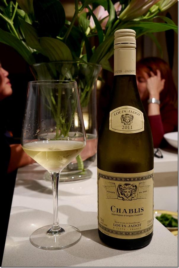 2011 Louise Jardot Chablis