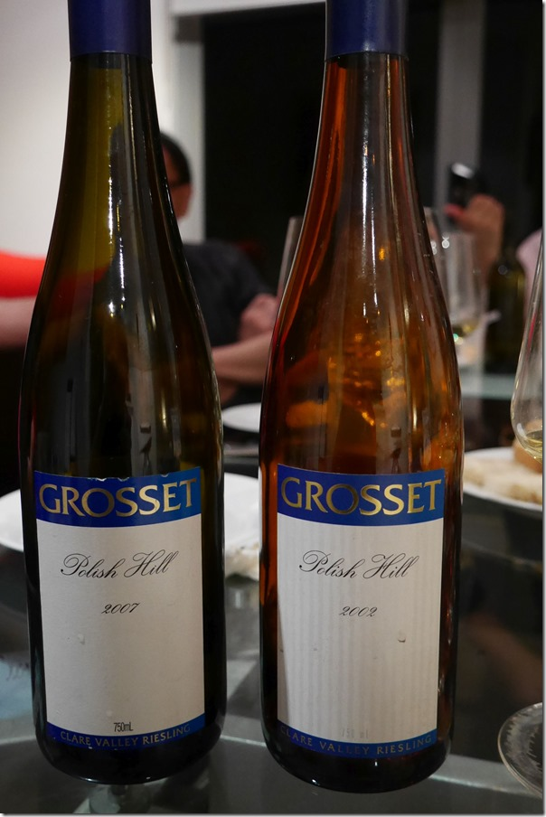 2007 & 2012 Polish Hill Grosset Riesling