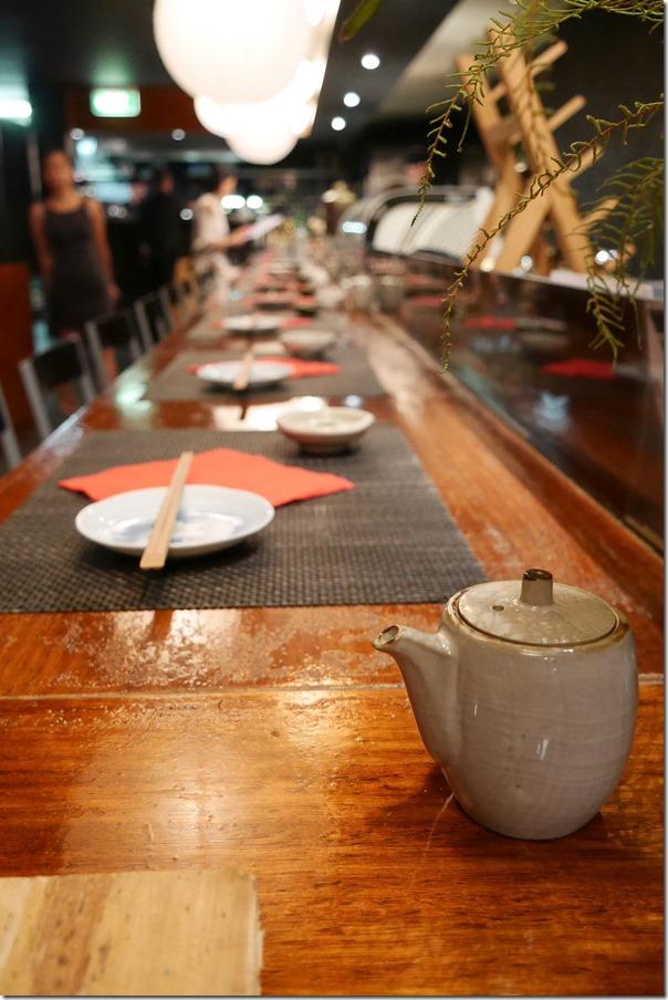 Bar dining, Busshari Authentic Japanese Restaurant, Potts Point