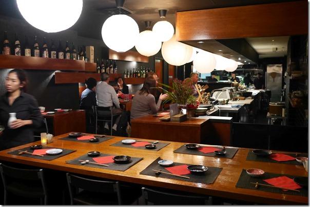 Dining room, Busshari Authentic Japanese Restaurant, Potts Point