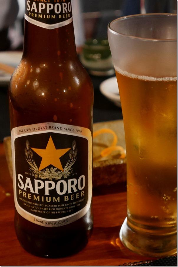 Sapporo Premium Beer $9