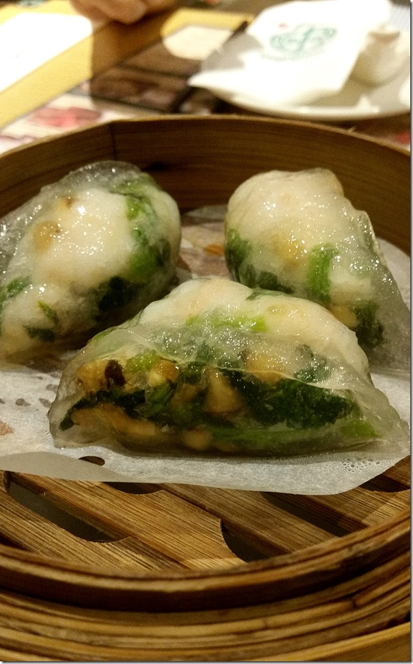 Spinach dumpling with shrimp RM8.30 / A$2.90