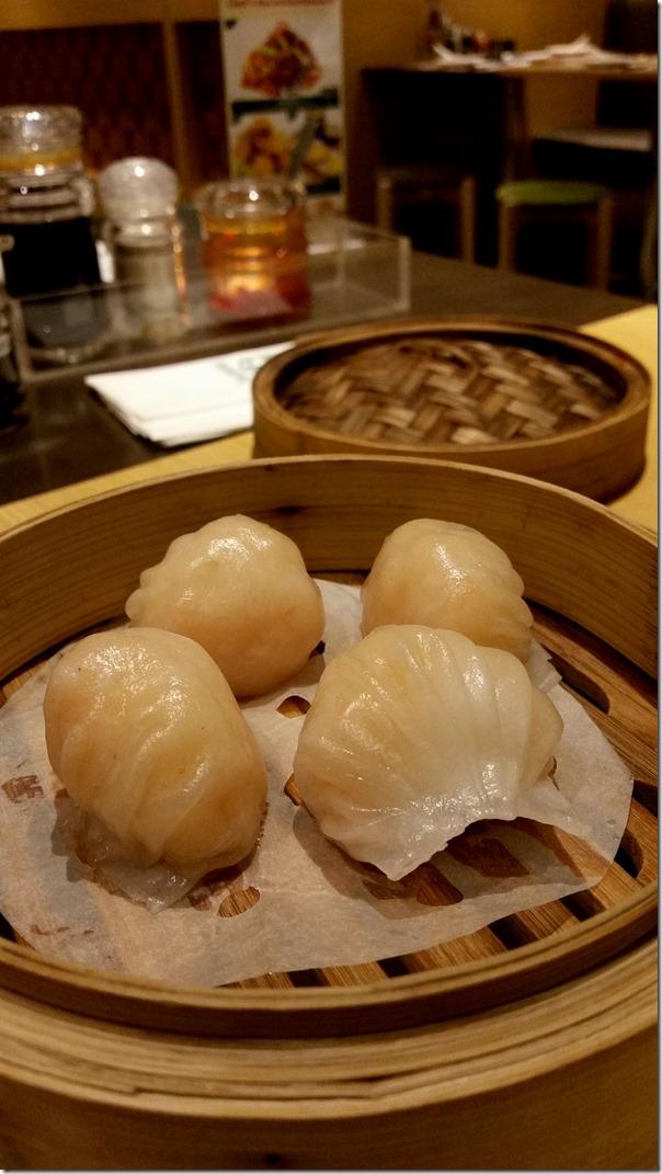 Prawn dumpling RM12.50 / A$3.30