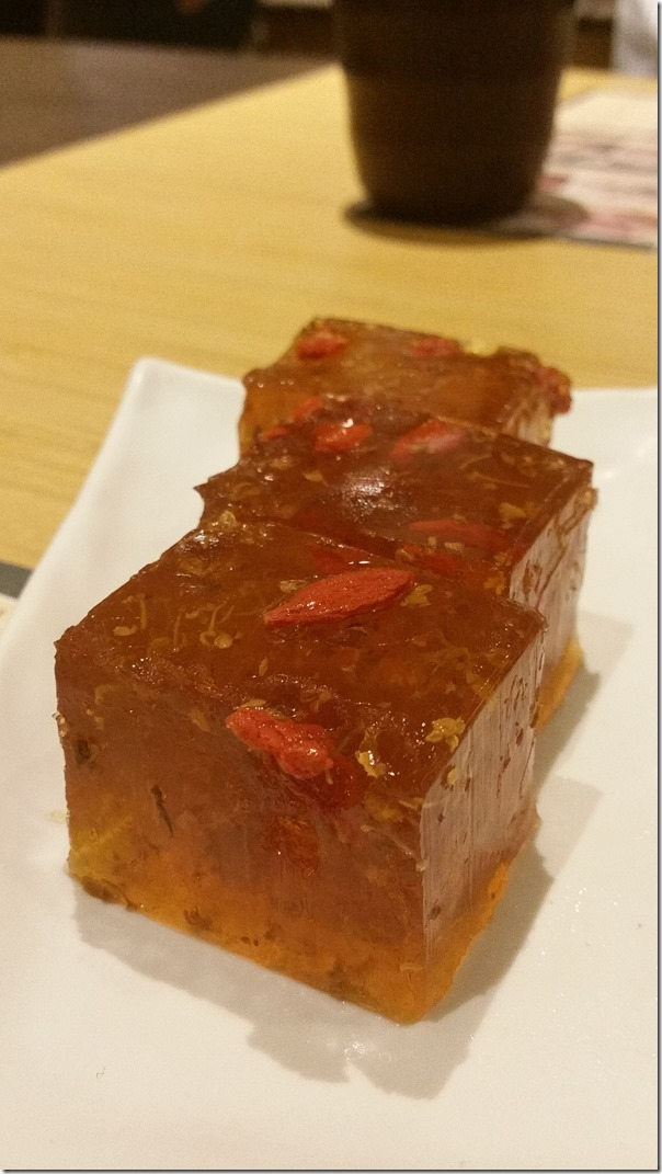 Tonic medlar and osmanthus cake RM7.20 / A$2.50