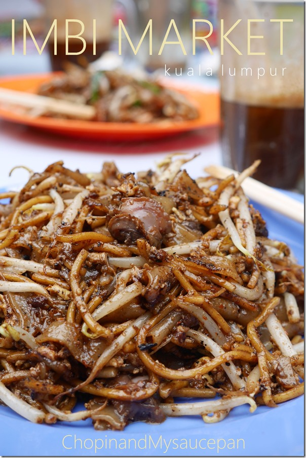 Char kway teow & mee with cockles RM5.50 / A$1.90