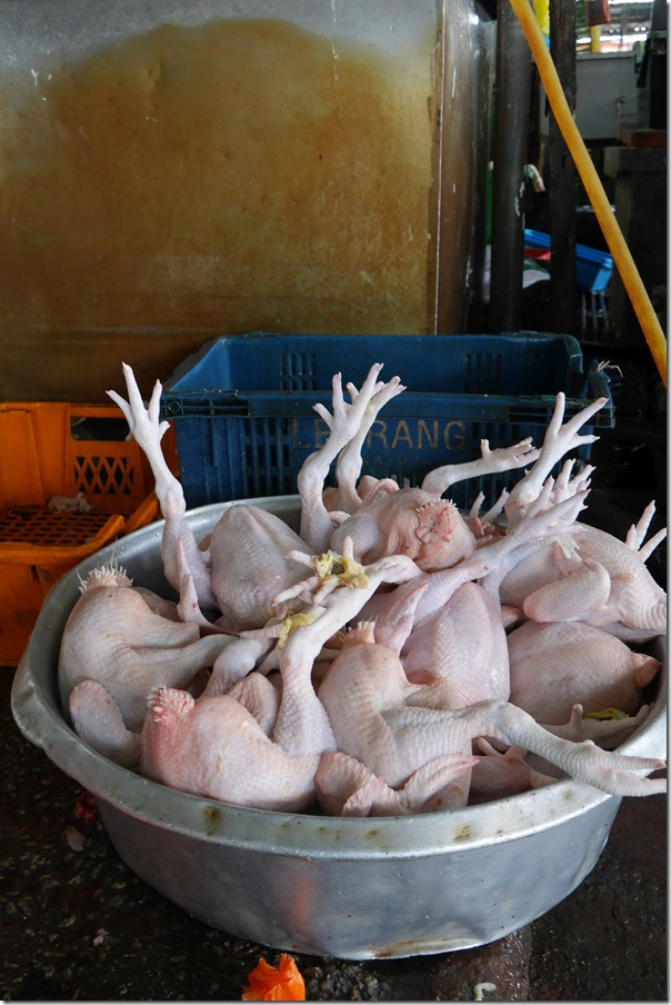 Whole chickens, Imbi Market