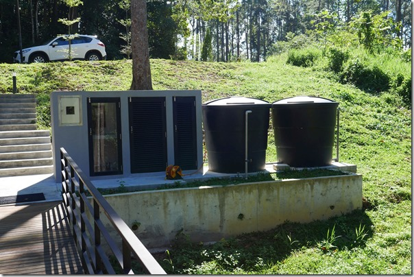 Water tanks for main water supply