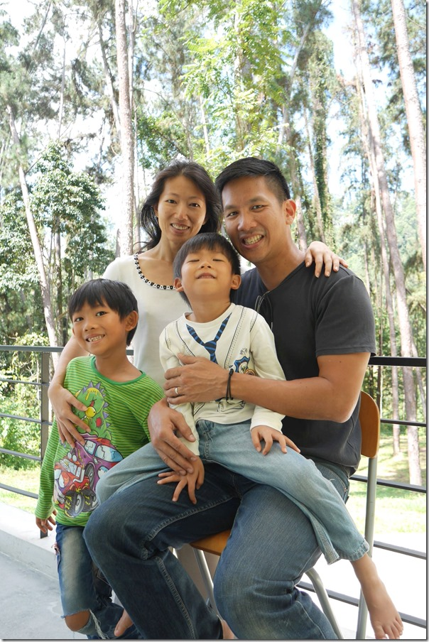 Brian, Wendy, JD and Tristan