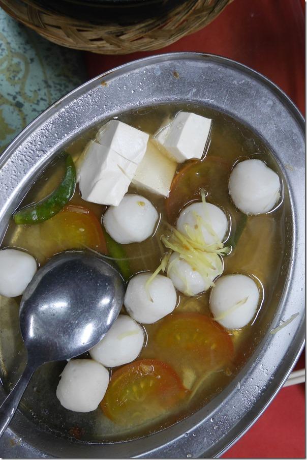 Teochew style fish balls RM12 / A$4.20