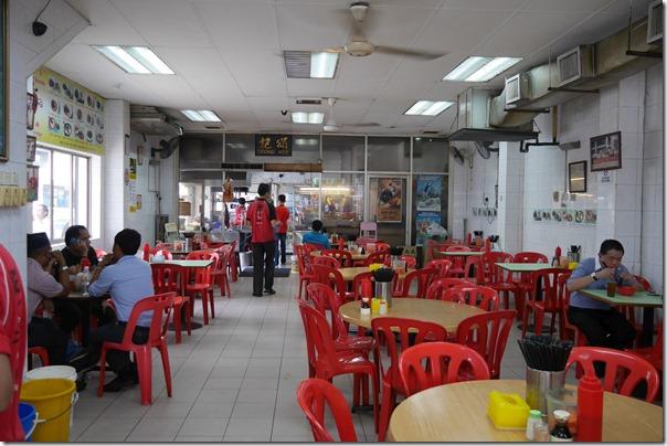 Dining room, Restoran Soong Kee, Jalan Tun H.S. Lee