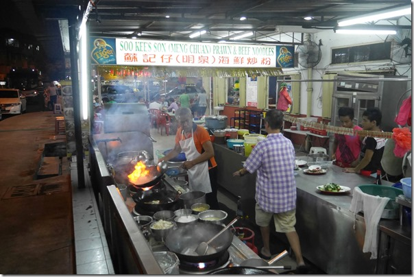 Fiery woks at Restoran New Imbi Garden