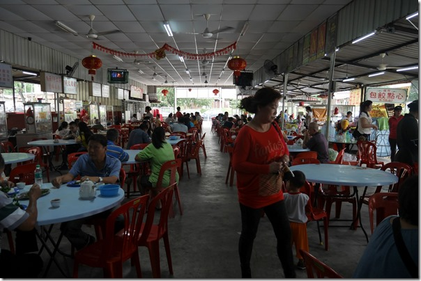 Food Court at Bandar Baru Steamed Fish Head, Selangor