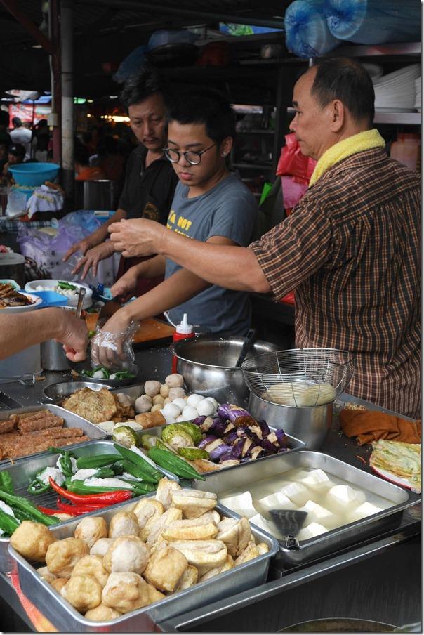 Yong tau foo stall, Imbi Market