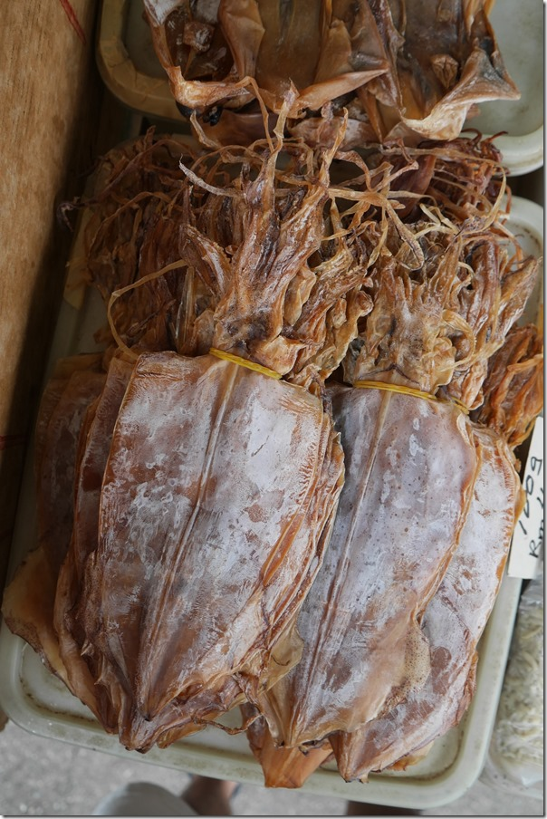 Dried squid, Imbi Market