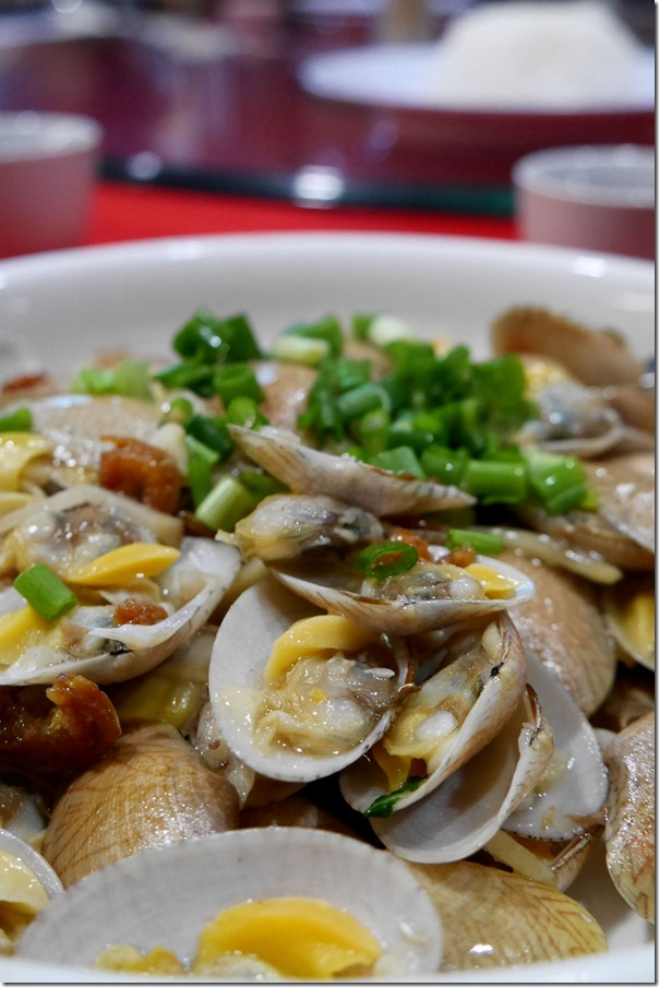 Stir-fried la la or clams RM45 / A$16
