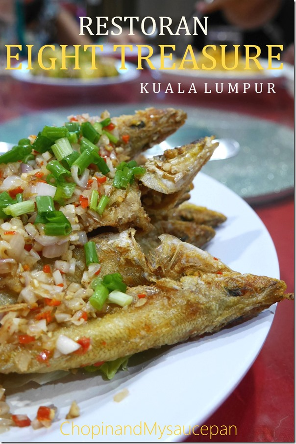 Deep fried sha chui or baby whiting RM4.80 / A$1.70 each