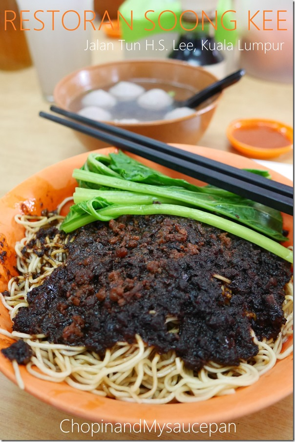 Beef ball noodles RM8 / A$2.80