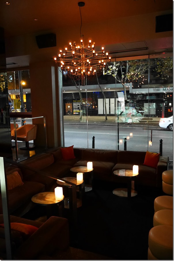 Sunken lounge, Hugos Bar Pizza, Kings Cross