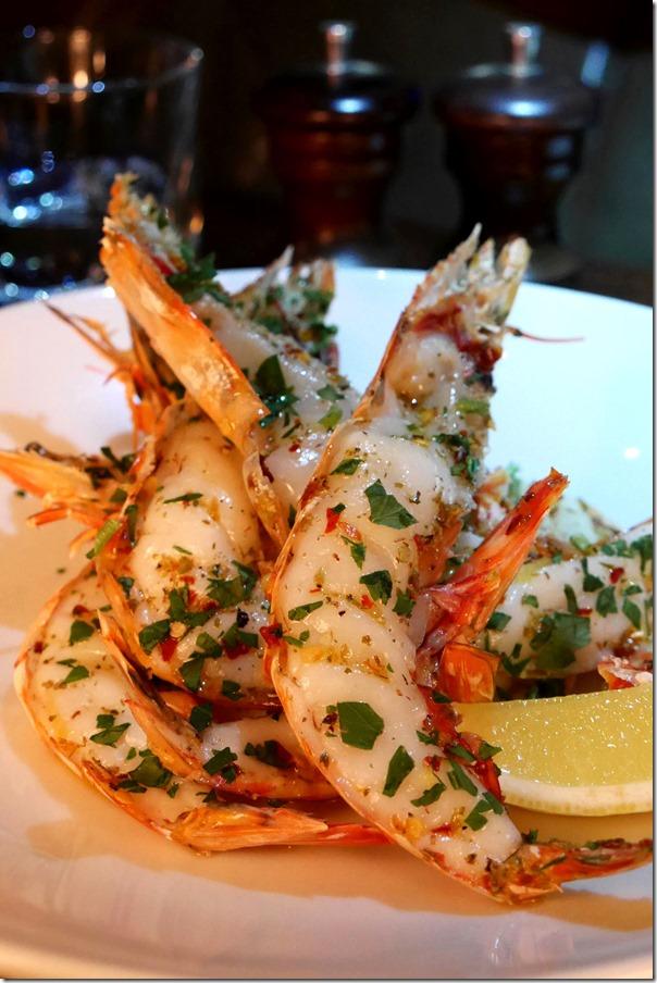 Grilled king prawns, oregano, chilli, lemon $26