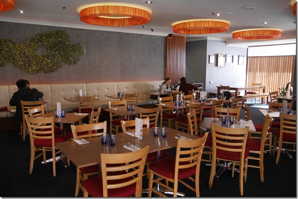 Dining room, Caysorn, Haymarket