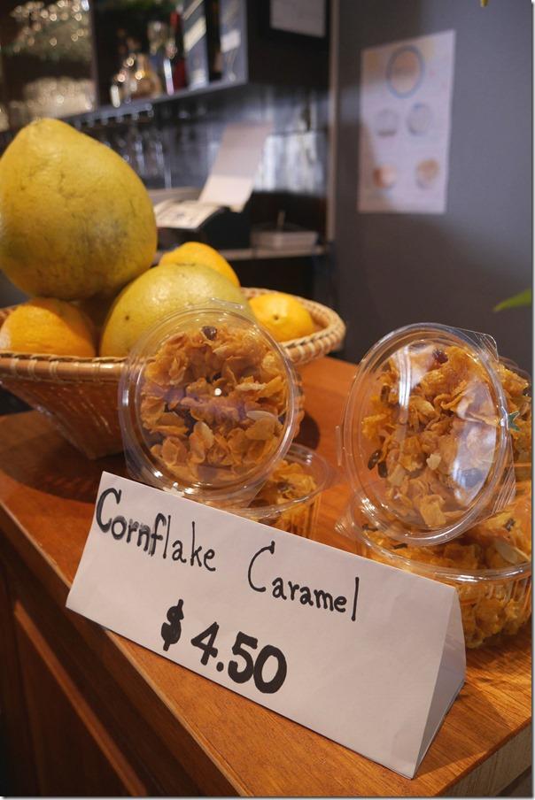 Cornflake caramel $4.50