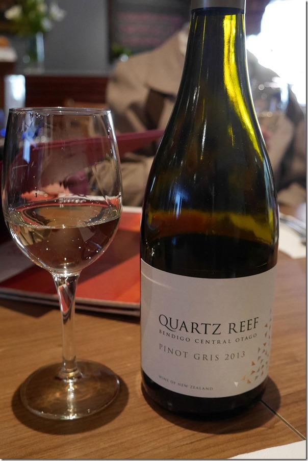 2013 Quartz Reef pinot gris