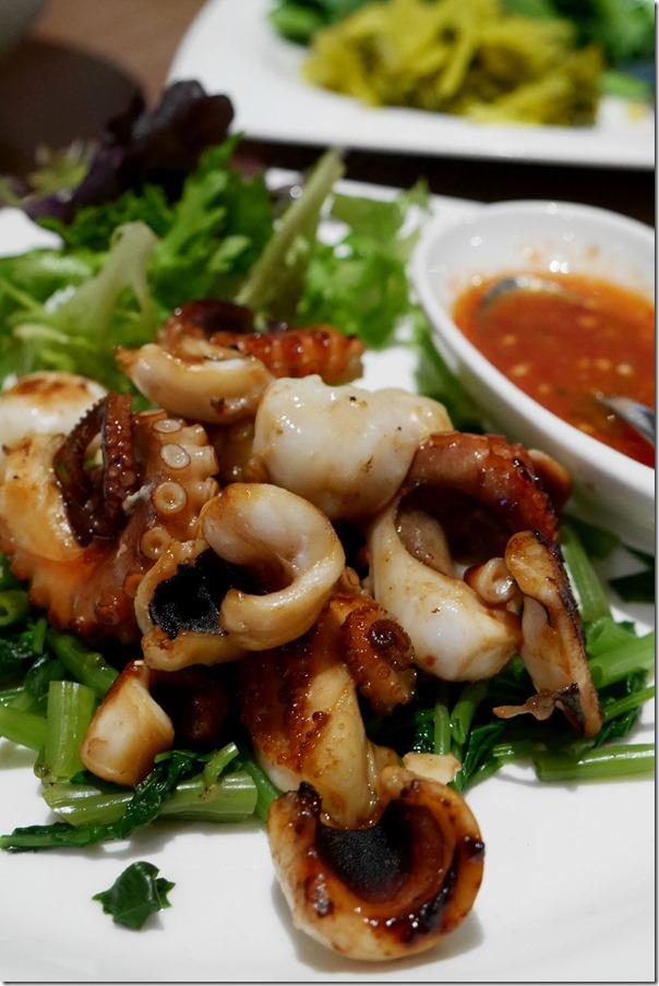 BBQ octopus $10.90