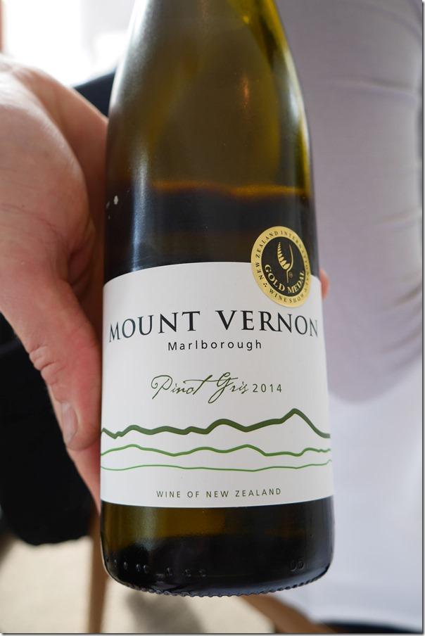2014 Mount Vernon pinot gris $55