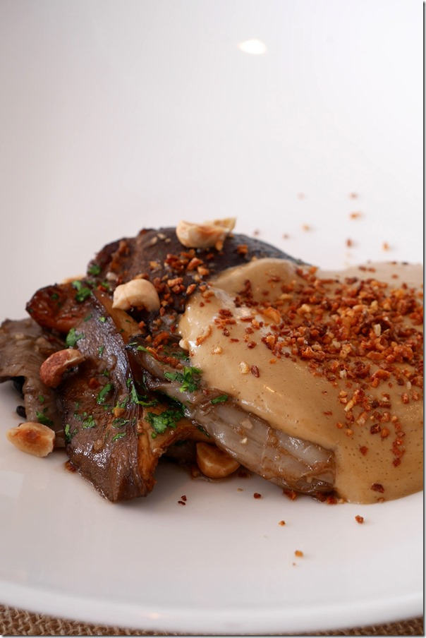 Roast local grown mushrooms $26