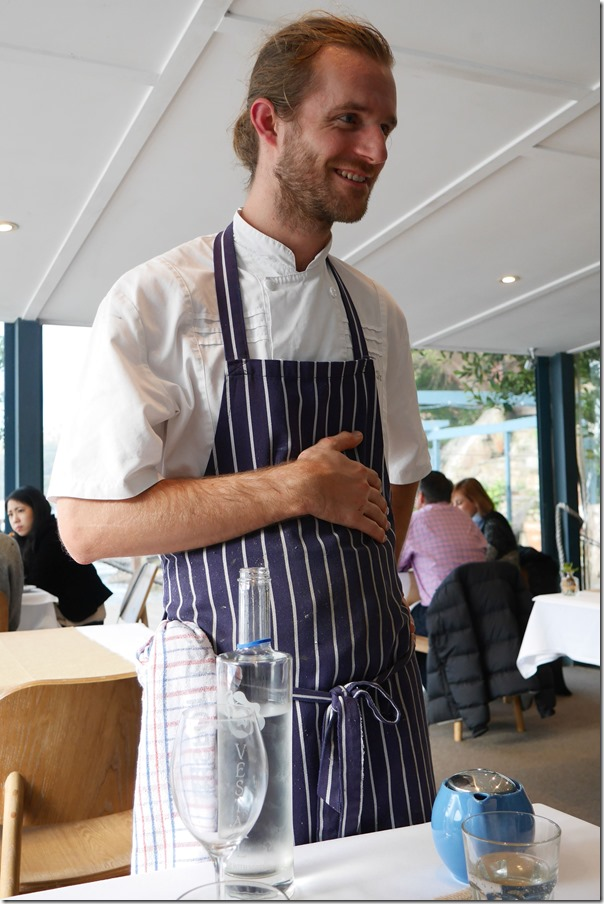 Chef Guillaume Zika, Cottage Point Inn, Cottage Point