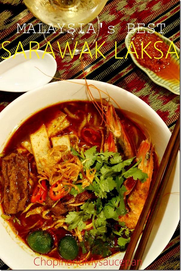 Malaysia's best Sarawak Laksa