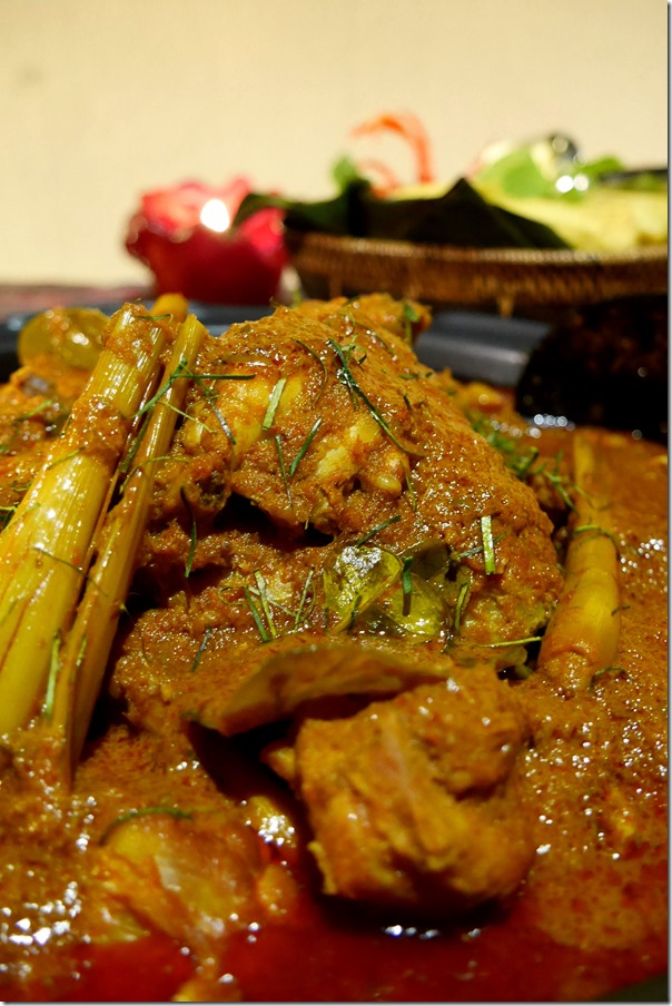 Nyonya style chicken curry