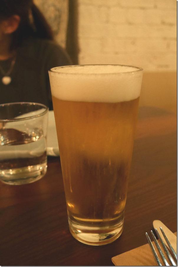 Tiger beer on tap $8