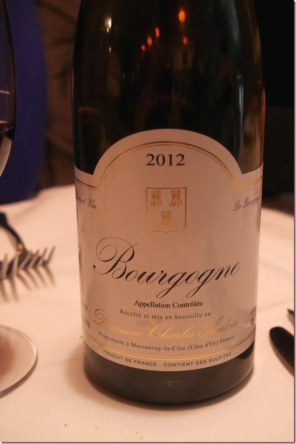 2012 Domaine Charles Audoin Bourgogne