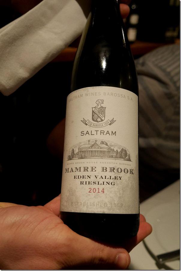 2014 Saltram Mamre Brook riesling