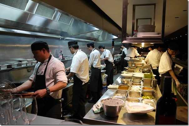 Chefs at work ~ The Malaya, King Street Wharf