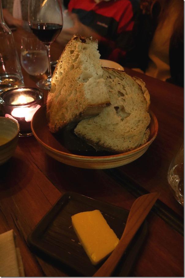 Wood fired bread $8