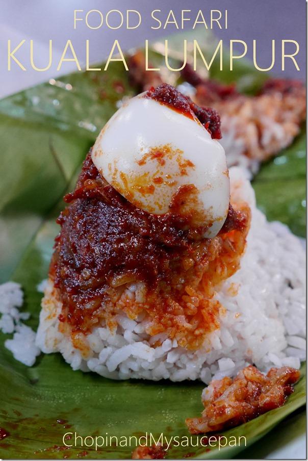 Nasi lemak bungkus from Naan Corner, Kuala Lumpur, Malaysia