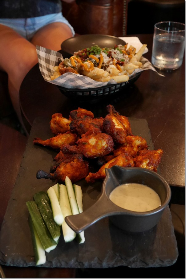 Buffalo wings - 8 wings $15, 16 wings $25