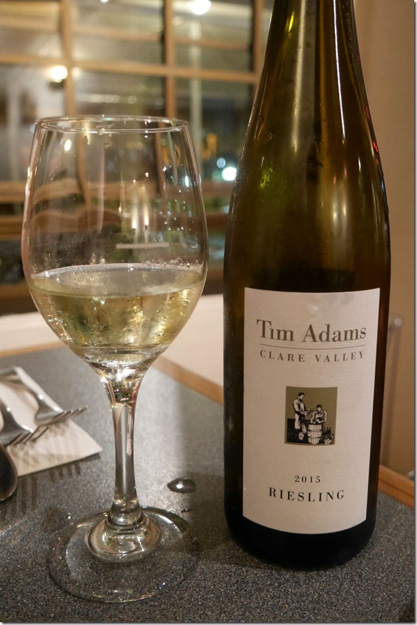 2015 Tim Adams riesling $43