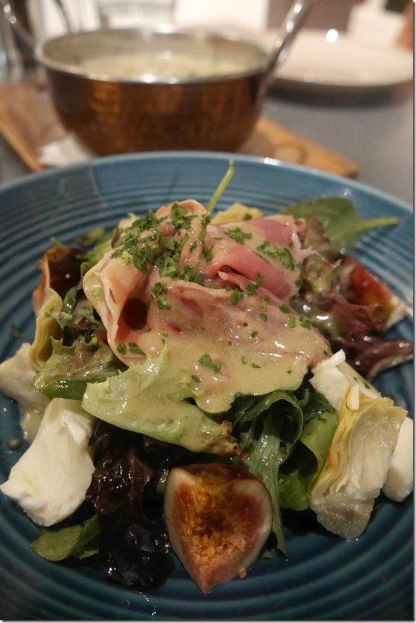 Fresh fig salad $17