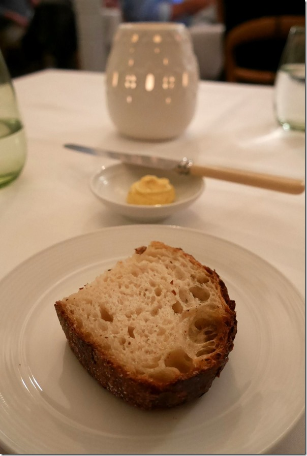 Fresh sourdough with botttarga butter