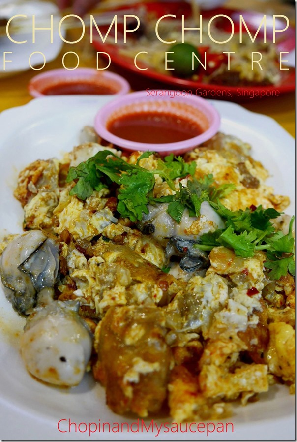 Orchien or fried oyster omelette $S5