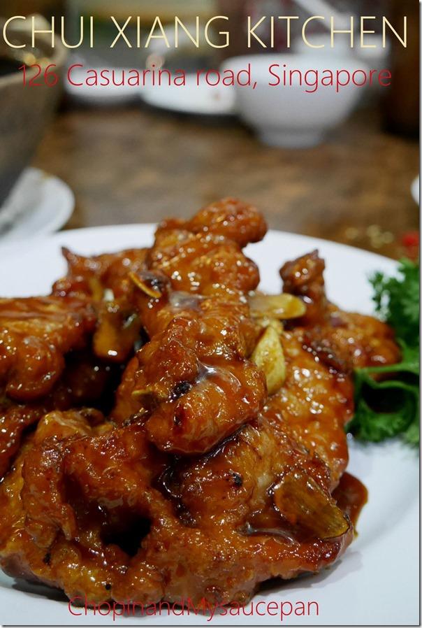 Chui Xiang Kitchen, 126 Casuarina road, Singapore